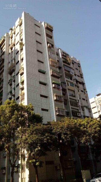 8「松山新城」為台北市松山區老字號國宅。