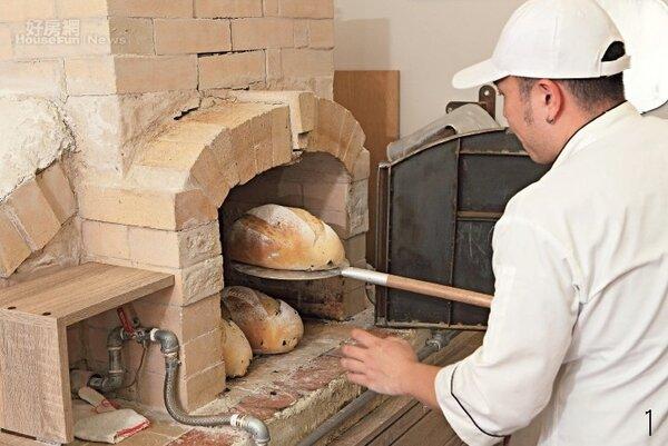 手感窯烤麵包 愈嚼愈有滋味