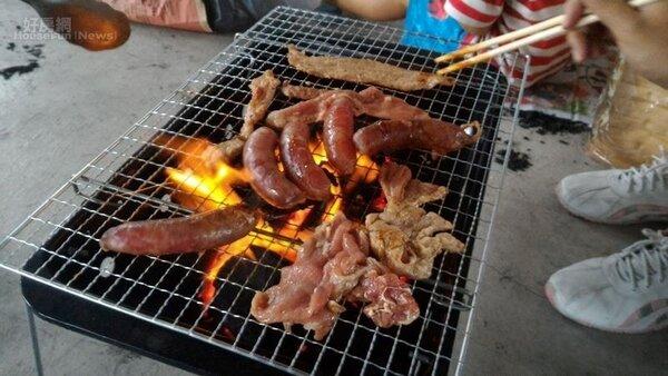 中秋烤肉 (好房網news記者陳韋帆攝影)