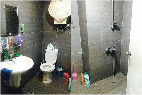 6.蓋彼小窩的廁所裝潢的很有時尚感,乍看像五星級飯店的廁所。