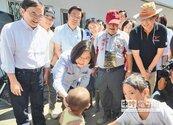 總統勘災台東 重建排第一