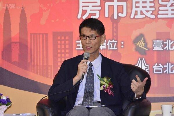 台北大學不動產與城鄉環境學系教授彭建文。(好房網News記者陳韋帆攝影)