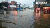 汐止淹水惡夢又出現? 四大路段一度積水且塞車