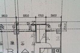 原始格局設計圖樣。