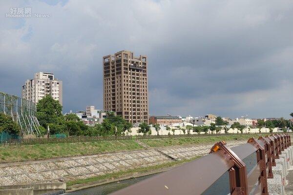 台中市政府將再度整治旱溪,打造台中唯一的親水綠意公園。(好房網News記者蔡佩蓉攝影)