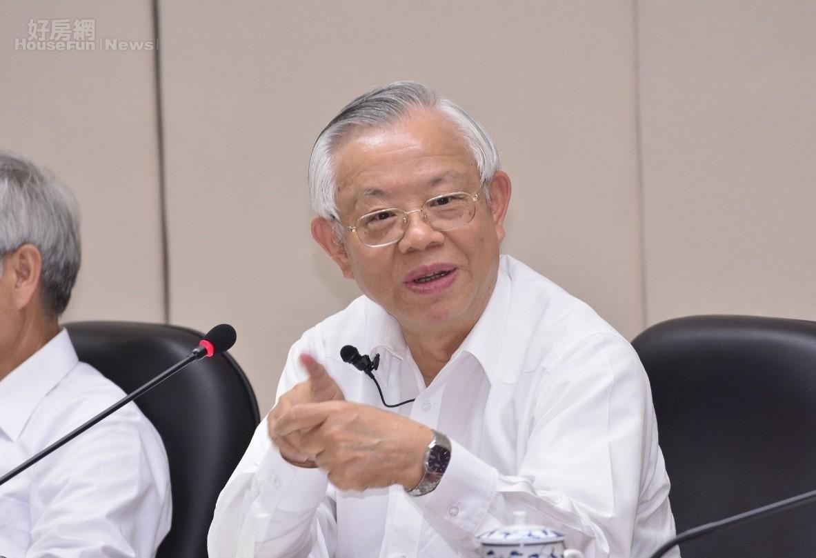 彭淮南表示,藉由貨幣升值來促使產業升級,這是倒果為因,圖為彭淮南(好房news記者陳韋帆攝影)