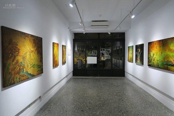 南萬華社區藝廊。(圖/水谷藝術提供)