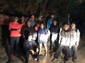 「高雄市119」立功!登山客迷路 APP定位速救援