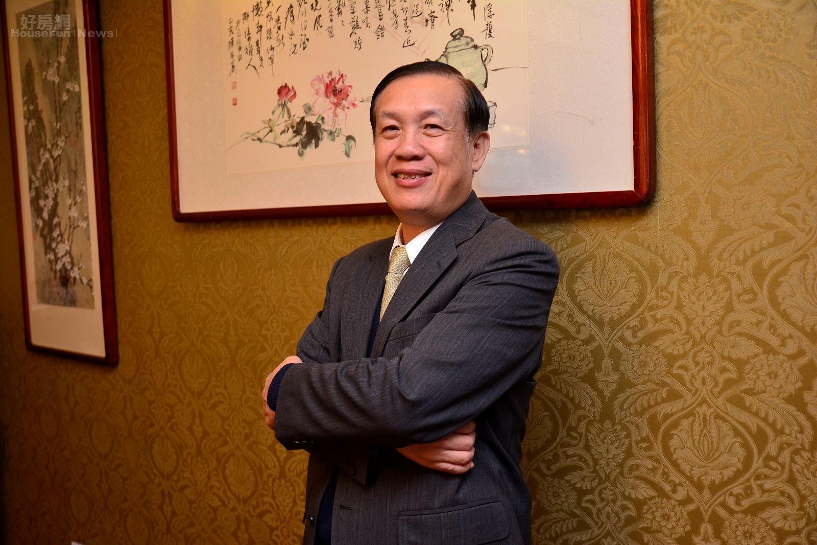 鄉林皇居董事長賴正鎰。(好房網News記者 陳韋帆/攝影)
