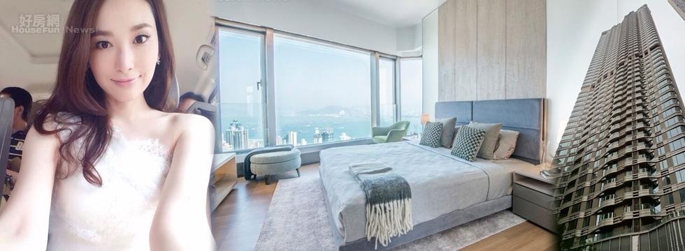 吳佩慈名下香港海景豪宅「瀚然」價值20億元。