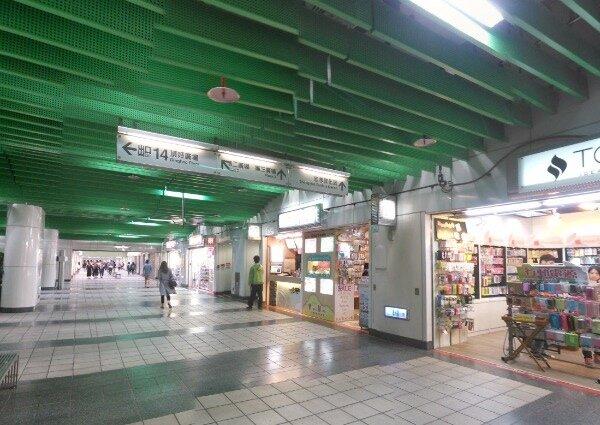 東區地下街重新招標後,店家抱怨店租一口氣漲太多(圖/翻攝自Google map)