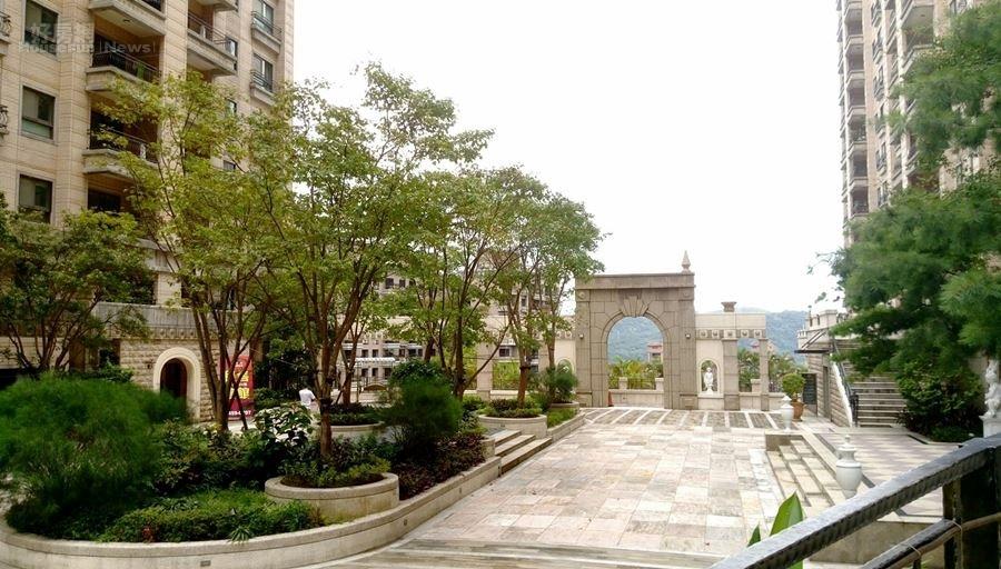 8.「麗寶台北大鎮」的廣闊園區。