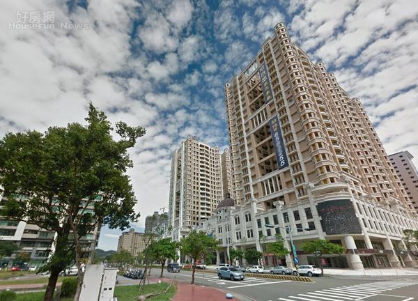 新竹竹北投資房產熱,新蓋許多新物件。圖/高鐵特區房市示意圖。(翻攝自Google Map)