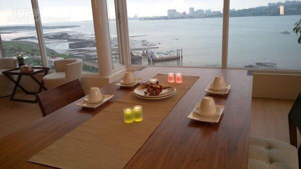 4.愜意放鬆的用餐環境。