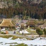 純樸的日本三大茅葺部落之一—美山かやぶきの里