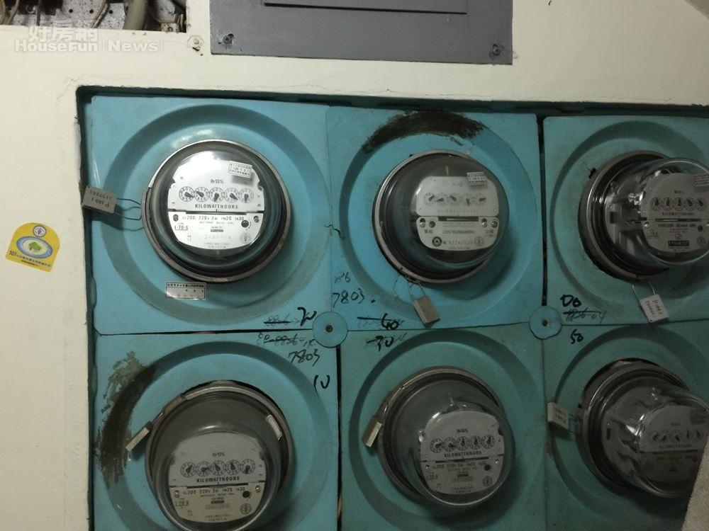 電表 電 缺電 限電 (好房網News林美欣攝影)