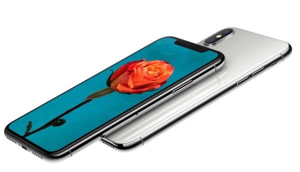 iPhone X。(翻攝自蘋果官網)