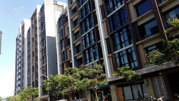 6.位於南港東新街的「森之丘」華廈。