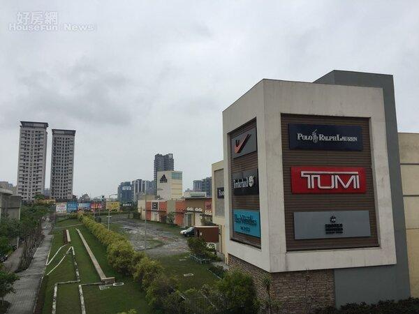 華泰名品城 outlet 青埔 購物中心(好房News林美欣攝影)