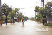 海棠挾雨夜襲 台南2/3行政區淹水