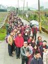 紫南宮發錢母 排隊人龍3公里