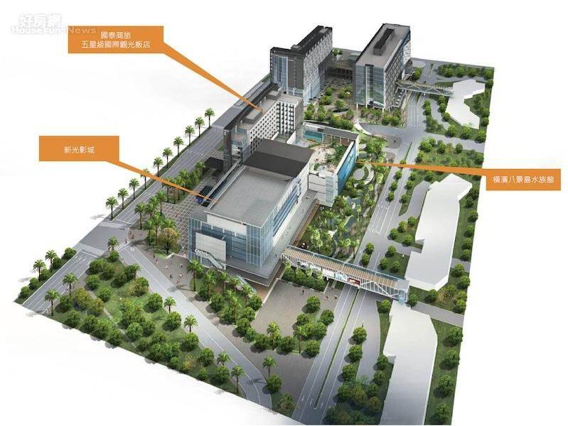新光影城將進駐桃園「國際商務城」,2020年開幕。(新光影城提供)