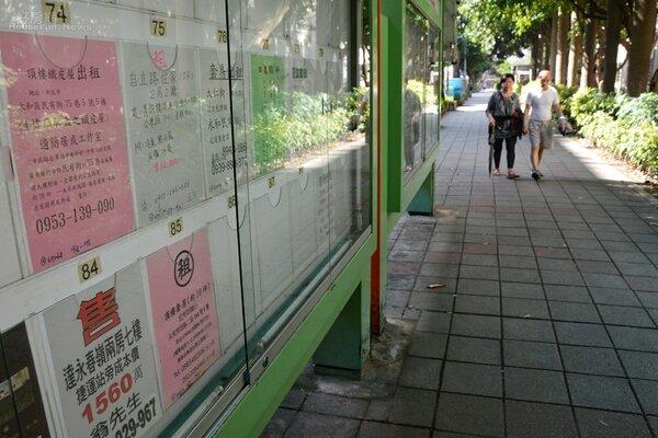 租屋情境,新北市府連實體看板都無法禁止頂加出租,中央卻要推動租屋專法。(好房網News記者 陳韋帆/攝影)
