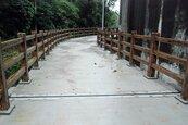 木質修繕貴 土城步道改鋪磚