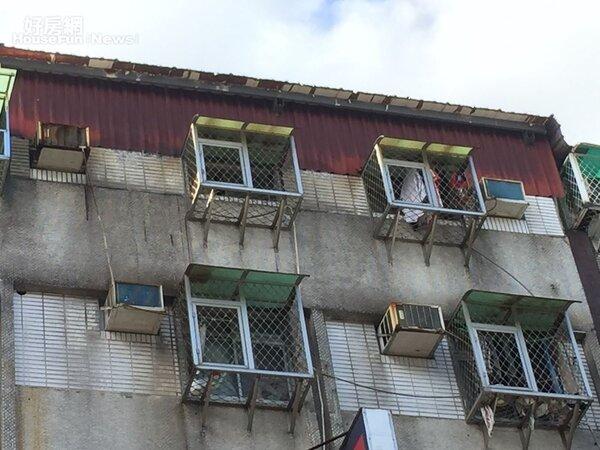 台北市大安區通化街90號6樓  違建拆除,屋主自拆(好房網News記者林美欣攝影)