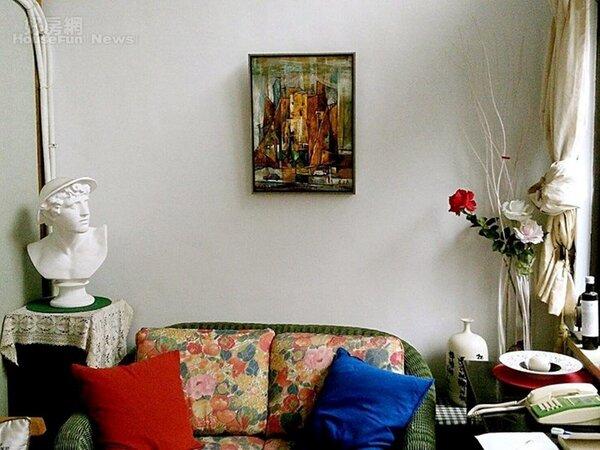 2.客廳重氛圍,溫馨舒適而藝術化。