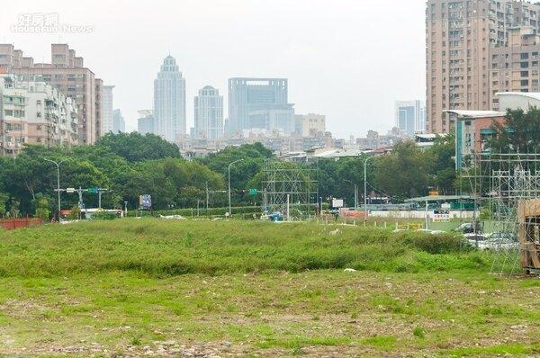 板橋江翠北側重劃區(好房網News記者張聖奕/攝)
