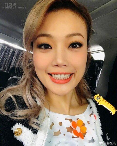 1.容祖兒是香港歌壇天后。(翻攝自容祖兒微博)
