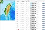阿里山昨晚地震規模5.5 今晨再發生4.0餘震