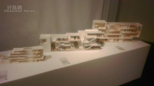 交通大學建築研究所建築展 台南的長型街屋 重塑與想像(好房網news記者王思云攝)