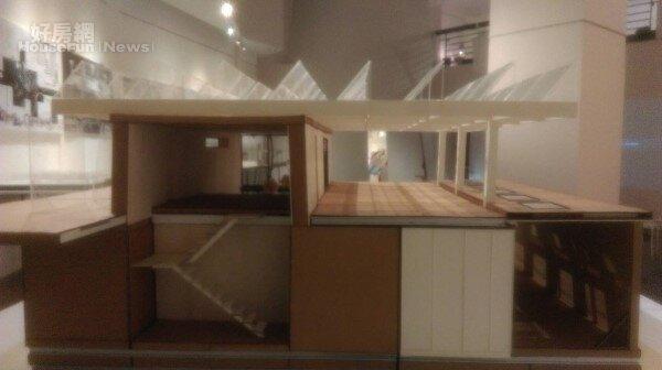 交大建築展 中東盃太陽能十項全能綠建築競賽 模型(好房網news記者/王思云攝影)