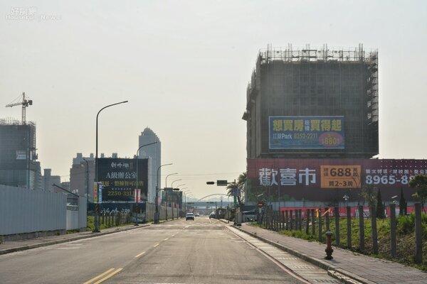 江翠北側重畫區。(好房網News記者 陳韋帆/攝影)