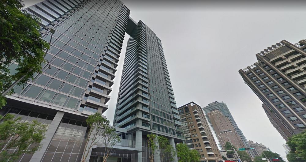 台中市長林佳龍財產申報多一筆美術館特區豪宅由鉅大恆,登記在老婆名下(圖/翻攝自google map)