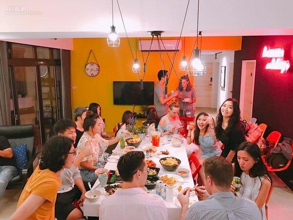 共享公寓「香蕉同居中」公共空間