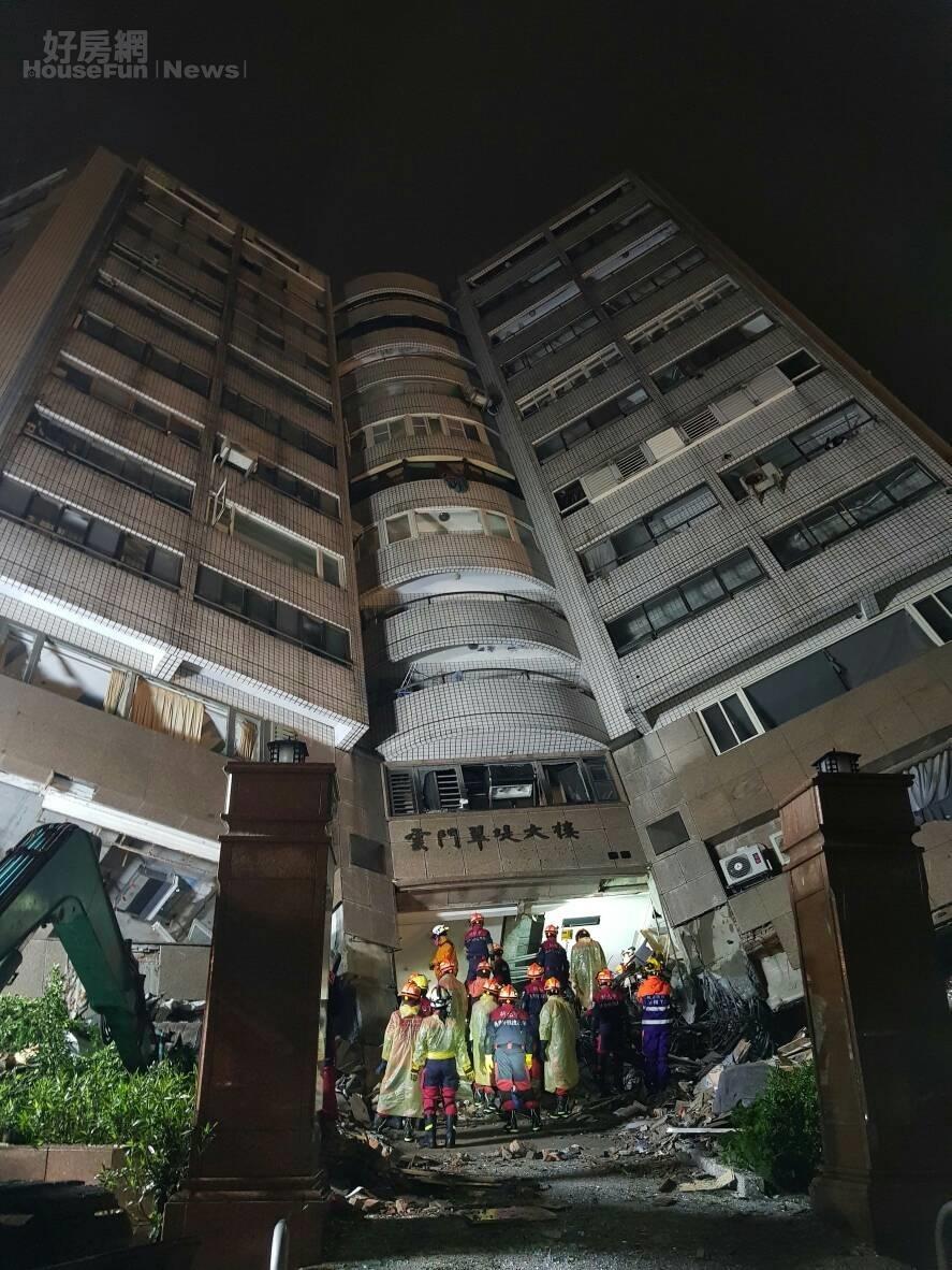 206地震207救難現場。(救難人員提供)