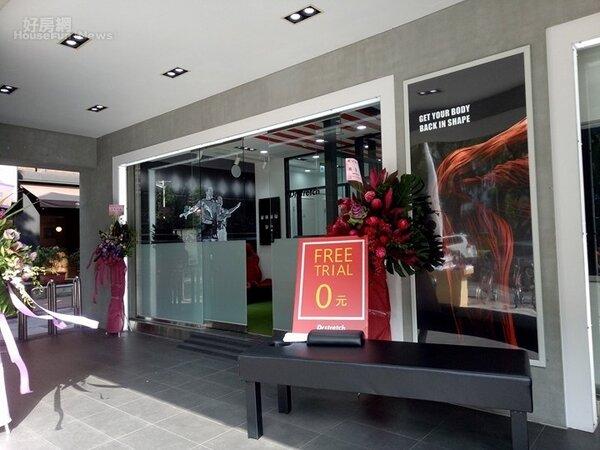 三星手機店變身運動品牌承租。(好房網News記者蔡佩蓉攝影)