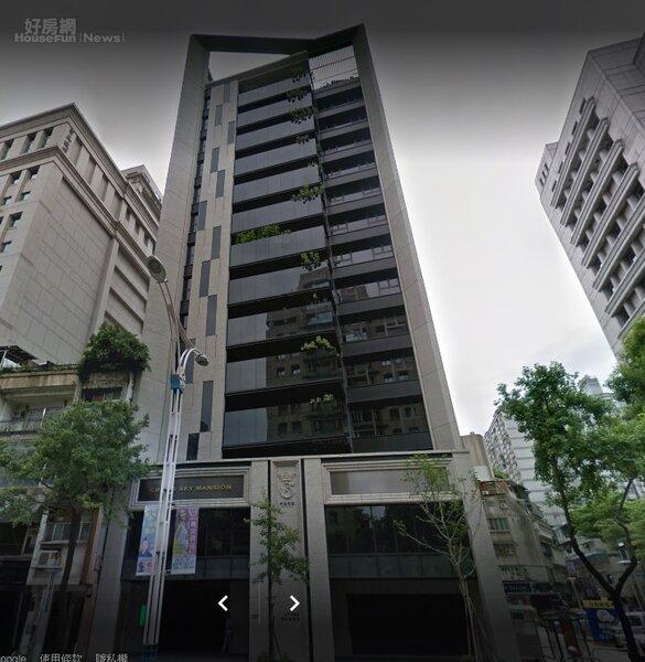 北市中山區中山北路二段「中山世紀」。圖/googlemaps