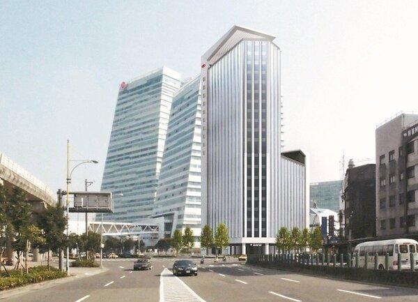 新光人壽南港大樓外觀。 本報系資料庫