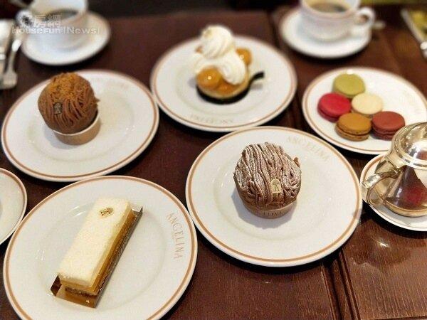 去巴黎必吃的百年甜點店-- Angelina Tearoom~