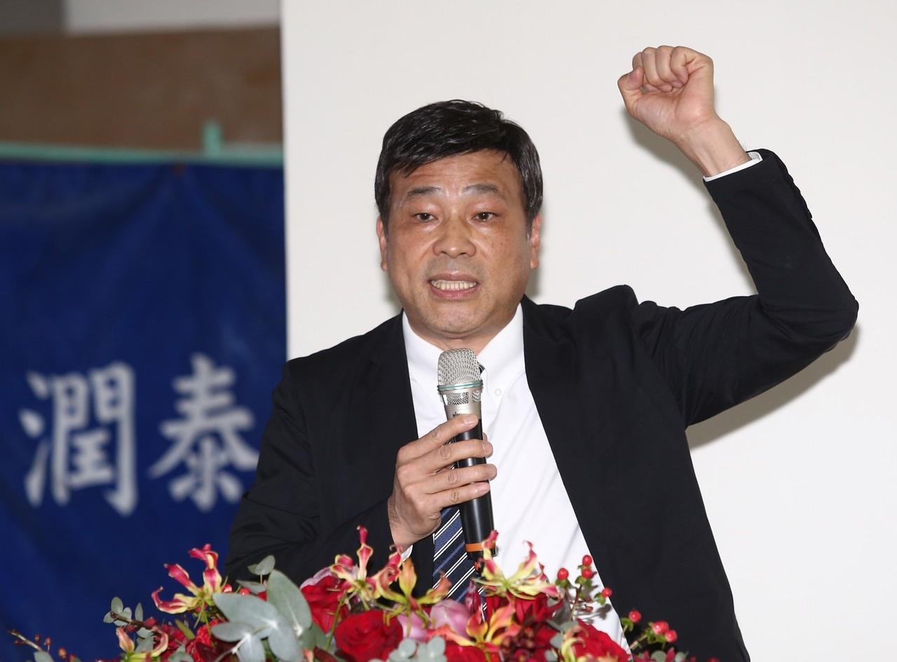 潤泰創新董事長簡滄圳說,使用權建案目標族群包括租屋族、頂客族、中南東部北上打拚年輕人等。記者/林澔一攝影