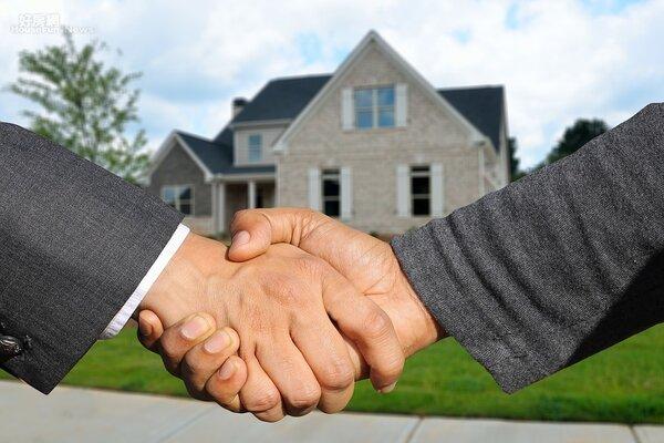 買房 房子 看屋 成交 售屋 握手