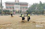 豪雨轟炸成水都 員林市再爆淹水災情