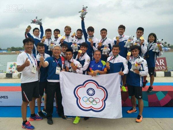 亞運 龍舟 中華奧林匹克委員會