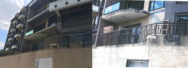 台北市信義區一處豪宅不斷進行增建工程,噪音影響周邊住戶生活品質(圖/翻攝自台北市建管處)