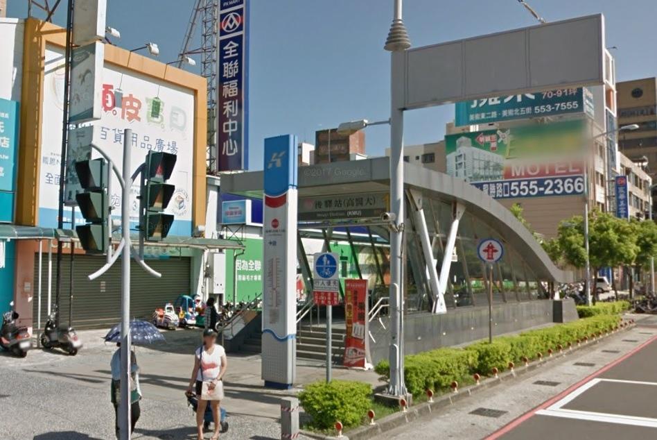 高捷紅線後驛站。圖/Googlemap