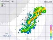 熱低壓中心出海! 東部雨勢正要開始 宜蘭慎防豪雨